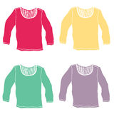 Color shirt Royalty Free Stock Photography