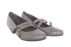 Lady shoes Royalty Free Stock Photos
