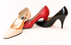 Lady shoes Royalty Free Stock Images