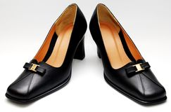 Lady shoes Stock Photos