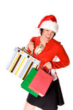 Lady shopping Royalty Free Stock Images