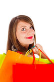 Lady Shopping Royalty Free Stock Image