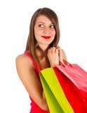 Lady Shopping Stock Images