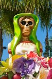 Lady skeleton for Halloween Royalty Free Stock Images