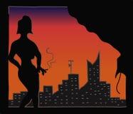 Lady Smoking Royalty Free Stock Photo