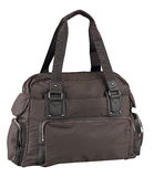 Lady sport traveling bag isolated royalty free stock image