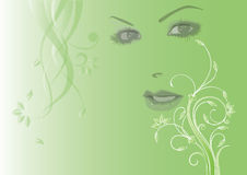 Lady Spring Royalty Free Stock Photo