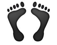 ślady stóp Obraz Stock