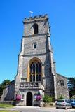 Lady St Mary church, Wareham. Stock Photo