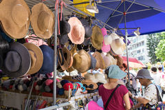 Lady street market, Hong Kong Stock Image
