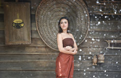 Lady style thai asia Royalty Free Stock Photos