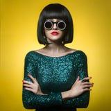 lady stylish Στοκ Φωτογραφίες