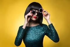 lady stylish Στοκ Εικόνες