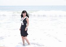 Lady in The Summer_0001 Royalty Free Stock Photos