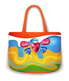 Lady summer holiday hand bag Royalty Free Stock Image
