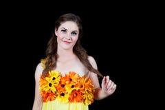Lady Sunshine Stock Image
