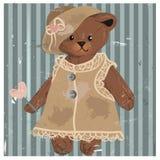 Lady Teddy Bear Stock Photos