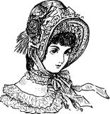 Lady of the 19th century Stock Photo