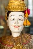 Lady of thai miniature puppet, Hoon Lakorn Lek Stock Images