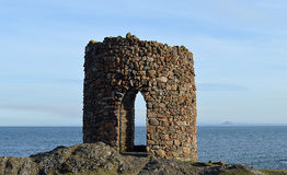 The Lady Tower, Elie, Fife, Scotland Royalty Free Stock Photography