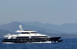 Lady Trudy Yacht Stock Photos