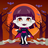 Lady Vampire Stock Images