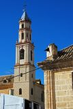 Lady Victoria Church bell tower, Osuna, Spain. Royalty Free Stock Photography