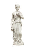 Lady water carrier sculpture Stock Photo