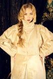 Lady white Royalty Free Stock Photos