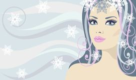Free Lady Winter Royalty Free Stock Photography - 18300857