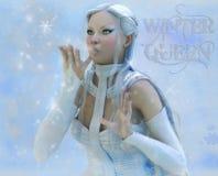 Lady winter royalty free stock photos