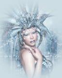 Lady Winter Stock Photo