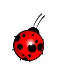 Ladybird. Beautiful Ladybird. Vector illustration Stock Photography