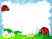 Ladybird illustration de vecteur
