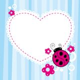 Ladybird Background Stock Image