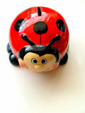 Ladybird  money  box. Stock Photo