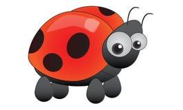 Ladybird rosso Fotografie Stock