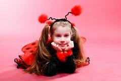 ladybird trochę Zdjęcia Stock