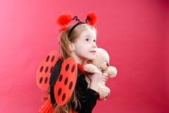 ladybird trochę Obrazy Royalty Free