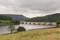 Ladybower dans le secteur maximal, Angleterre, R-U photos libres de droits