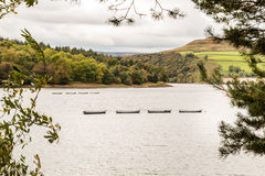 Ladybower Reservoir Bamford. Derbyshire England Stock Images