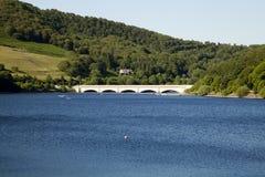 Ladybower-Reservoir-Brücke Lizenzfreies Stockbild