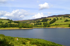 Ladybower reservoir stock photography