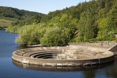 Ladybower-Reservoir-Dreckloch Lizenzfreie Stockfotografie