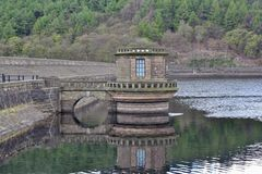 Ladybower Reservoir, Hope Valley. In the Peak District Royalty Free Stock Photography