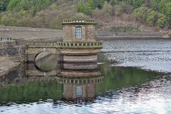 Ladybower Reservoir, Hope Valley. In the Peak District Royalty Free Stock Images