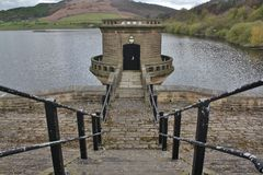 Ladybower Reservoir, Hope Valley. In the Peak District Stock Photos