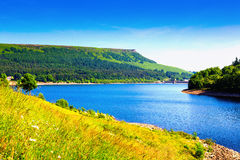 Ladybower Reservoir Stock Image