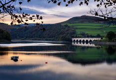 Ladybower Reservoir,Peak district England Stock Photo