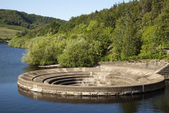 Ladybower Reservoir Sinkhole Royalty Free Stock Photography